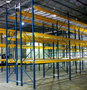 Used Pallet Rack Uprights Greely, CO
